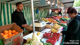 Лучший рынок в Париже//Парижская осень #7
