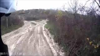 Tor motocrossowy Bodzów w Krakowie [Yamaha XTZ 750][Wokół Komina]