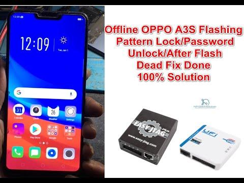 offline-oppo-a3s-flashing-hang-on-logo/pattern-lock/password-unlock/after-flash-dead-fix