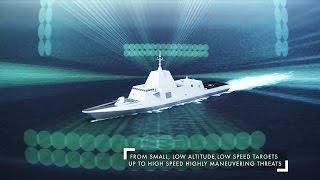 Thales - Sea Fire 500 AESA Multi-Function Fixed Array Radar Simulation [1080p]