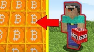 КРИПТОГОРОД! НУБ НЕВИДИМКА ПЫТАЕТСЯ ВЗОРВАТЬ ВСЕ НАШИ БИТКОИНЫ! Minecraft