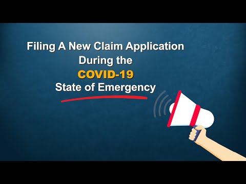 Filing A New Claim Application During COVID-19