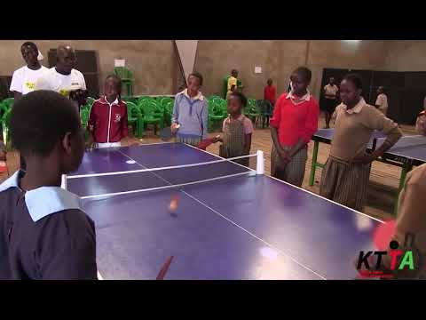 Kenya Table Tennis Association Girl-child Initiative At MYSA