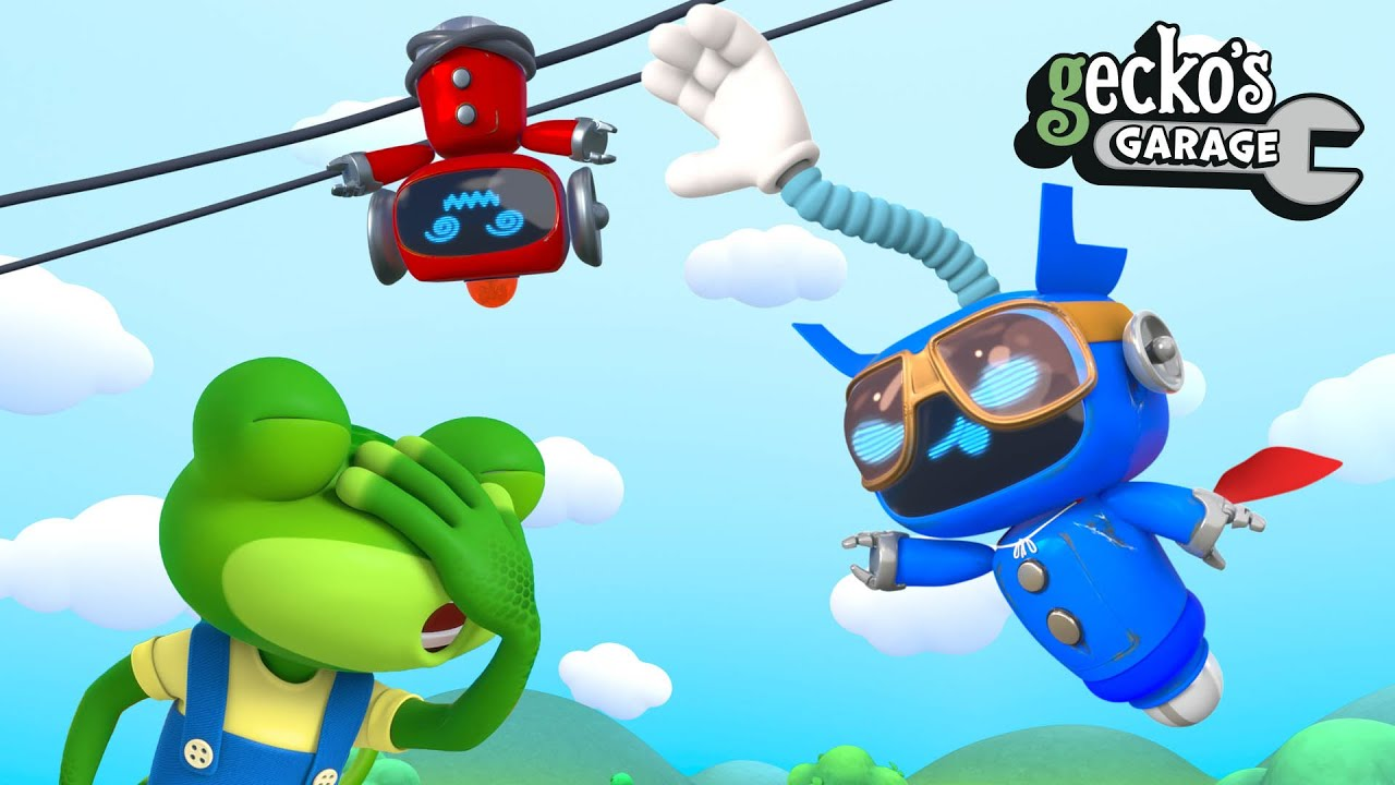 Superhero Mechanical Saves the Day|Gecko's Garage|Cartoon For Kids|Learning Videos For Toddlers
