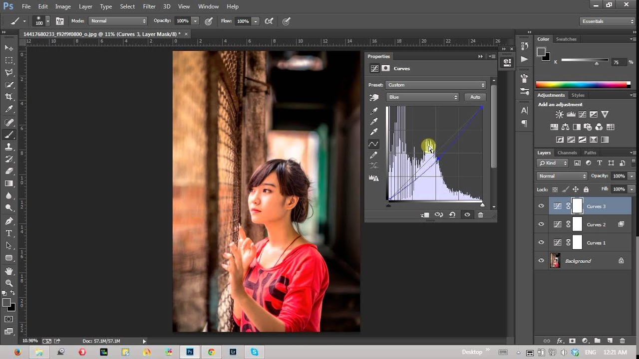 Blend màu cơ bản, tạo độ sâu cho ảnh trong photoshop | HPphotoshop.com