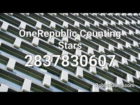 Onerepublic Counting Stars Roblox Id Music Code Youtube