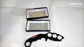 Складной нож кастет: демонстрация и основные параметры