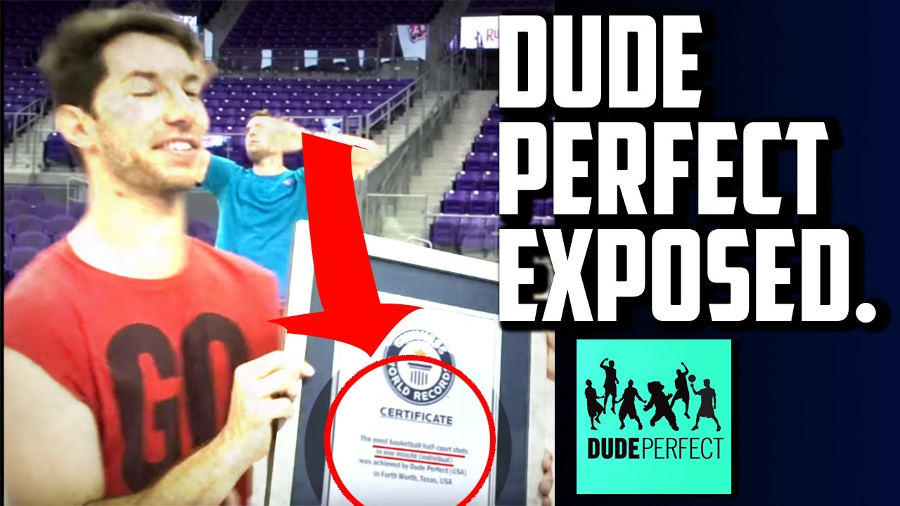 dude perfect caught lying fake award and certificate. Black Bedroom Furniture Sets. Home Design Ideas