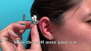 How to Wear an Ear Cuff!