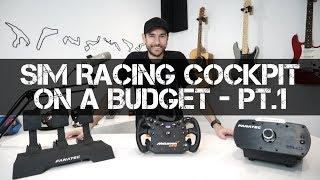 Building a Sim Racing Cockpit on a Budget - Fanatec CSL Elite Unboxing