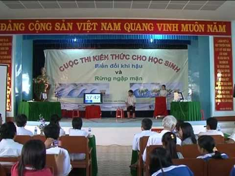 Cuoc thi tim hieu ve Bien doi khi hau va Rung ngap man - Soc Trang (Lai Hoa - Nguyen Khuyen)
