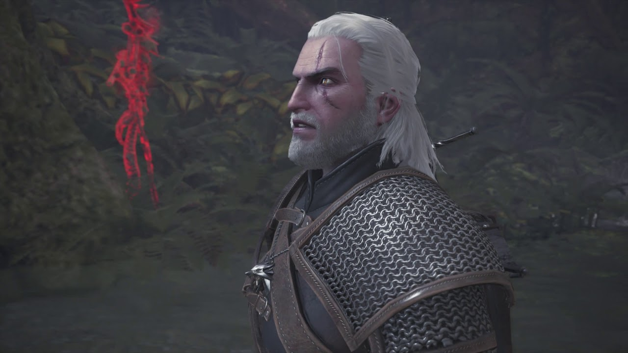 魔物獵人 世界 PS4版 找龍人老爹翻譯奇面族語言 巫師任務3 - YouTube
