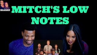 Mitch Grassi- Low Notes| REACTION