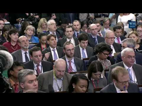Donald Trump Press Secretary Sean Spicer Press Briefing Conference 3/7/17
