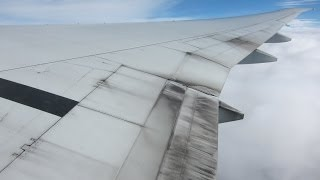 Extremely Dirty Air Canada 777-300ER Post-Rainstorm Takeoff from Frankfurt Am Main!