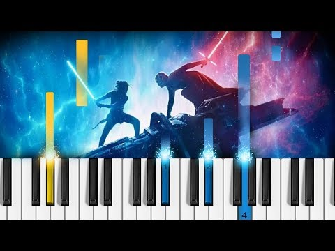 Star Wars: The Rise Of Skywalker - Final Trailer - EASY Piano Tutorial