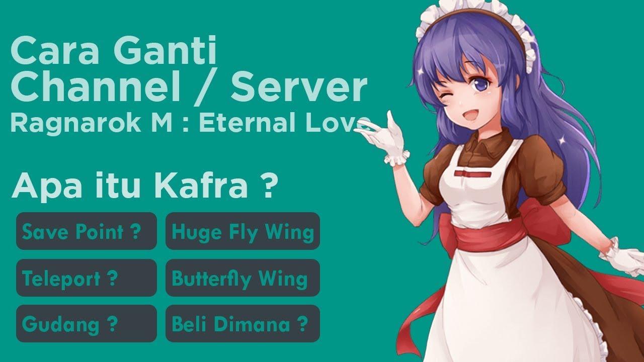 Cara Teleport, Ganti Channel, Butterfly Wing ? Ragnarok Mobile