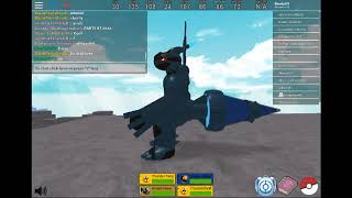 Sherly007 vs songamer46!!! l Pokemon Fighters EX l Roblox