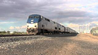 [HD] Amtrak Sunset Limited #1- Deming, NM
