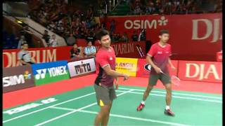 R16 MD Angga Pratama Ryan Agung Saputra vs Lee Y D Jung J S 2011 Djarum Indonesia Open
