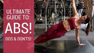 BEST MOVES FOR A FLAT BELLY | COMPLETE GUIDE TO ABS!