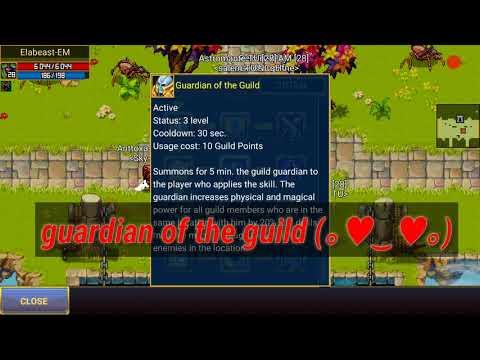 Warspear online - testing new guild skills