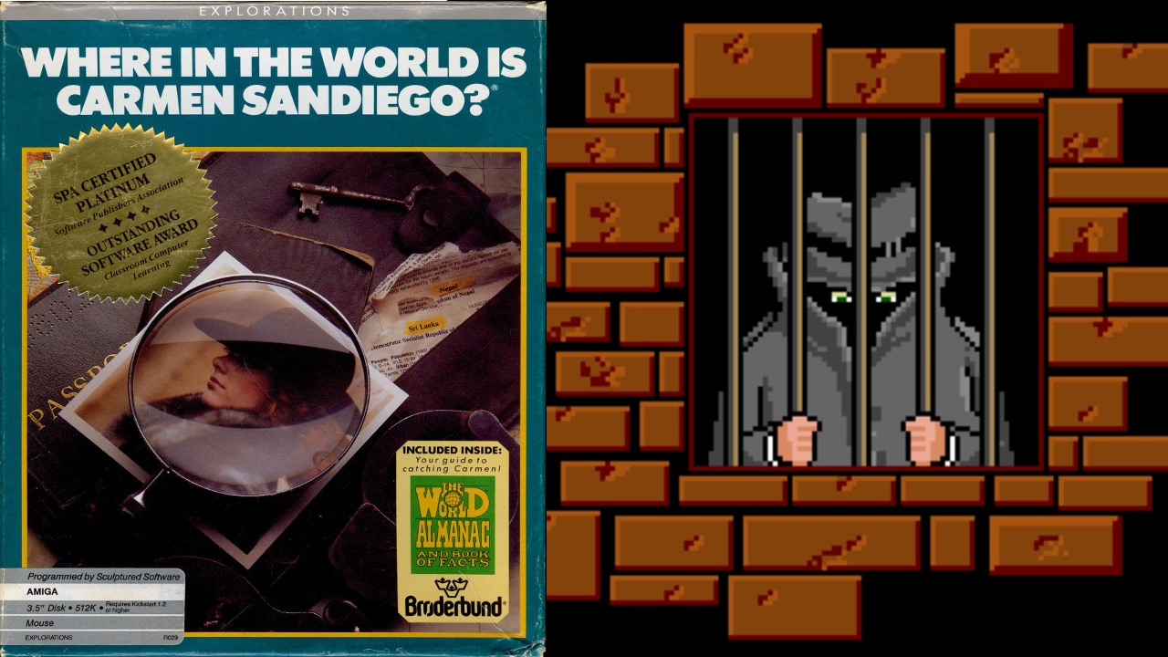 Resultado de imagen para Where in the World is Carmen Sandiego (Broderbund, 1989)