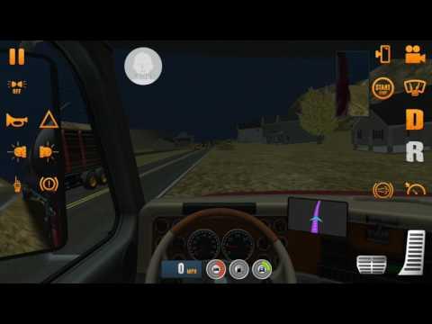 Truck Simulator USA เกมส์ขับรถบรรทุก รถสิบล้อ ขับรถส่งสินค้า
