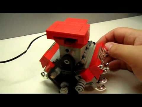 LEGO Big Block V8 INSTRUCTIONS by: Legomaniacman - YouTube