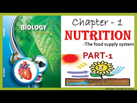 Nutrition - The Food Supply System, 10th Biology Part -1