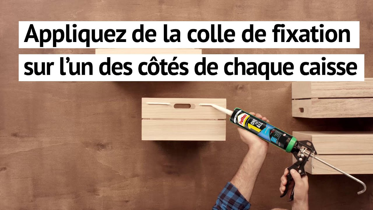 Fabriquer une table basse partir de caisses youtube - Fabriquer table basse originale ...