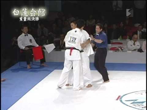 白蓮会館2006全日本大会 重量級決勝 北島vs新井