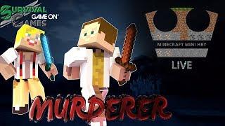 MURDERER na survival-games - GAME ON [ LIVESTREAM ] w/ GEJMR