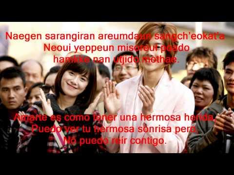 Because I´m Stupid (Letra + Sub español ) Kim Hyun Joong