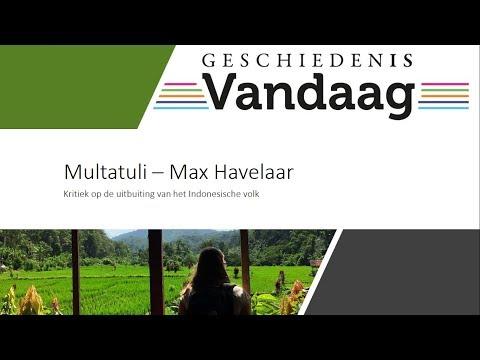 Multatuli - Max Havelaar en de uitbuiting van de Indonesische bevolking