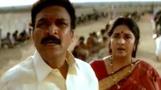 Repeat youtube video Simhadri Movie || Nasar Fight for Entry into Temple Sentiment Scene || Jr NTR, Bhoomika, Ankitha