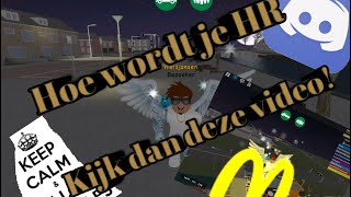 How to get HR at Amsterdam City V1 (ROBLOX)