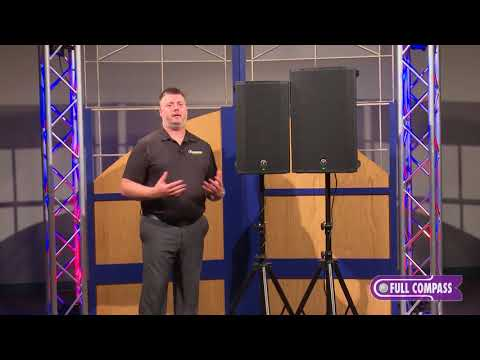 Mackie Thump Powered Loudspeaker Series Update  Full Compass