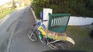 moto cross conversion électrique moteur alternateur