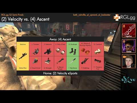 Semi-Finals - Velocity eSports vs Ascent  - Pick/Ban Prolander - RGL.gg - Season 2