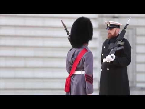 They're changing the guard at Buckingham palace