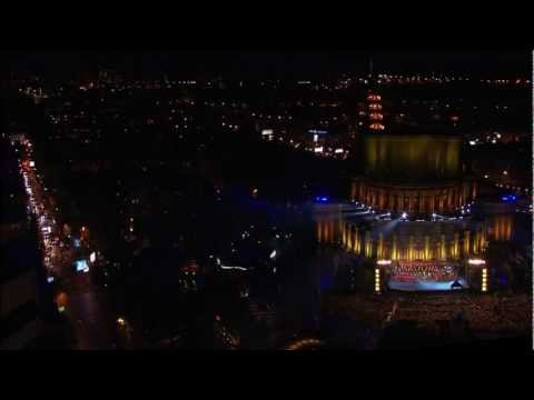 4d Projection - 'History Of Armenia' - Live Concert At Liberty Square, Opera, Yerevan