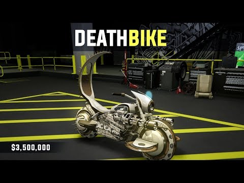 "$3.5 Million ""DEATHBIKE"" in GTA Online (Arena Wars DLC)"