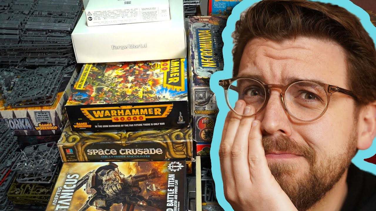 My Warhammer PILE OF SHAME: 1 year on. Smaller, or BIGGER!?