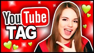 YouTube TAG // Тэг о видеоблоггерах // Саша Спилберг