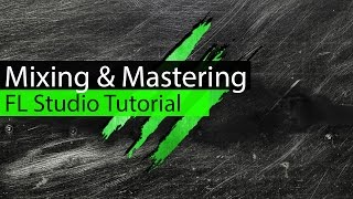 mixing mastering vocals eq compression basics fl studio tutorial