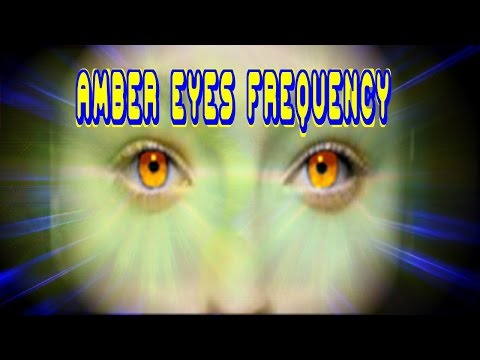 Amber Gold Eyes Frequency plus Super Subliminal Future-Channeled Binaural Beat