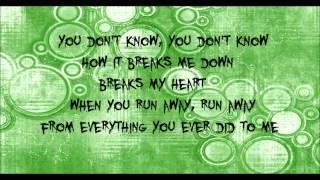 Pitchin a fit-Puddle of Mudd w/lyrics on screen