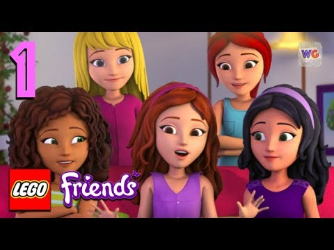 Lego Friends Heartlake Rush Gameplay Part 1 New Character Chloe