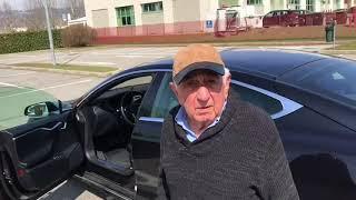 Interviste Elettriche: Francesco, 79 anni, guida una Tesla